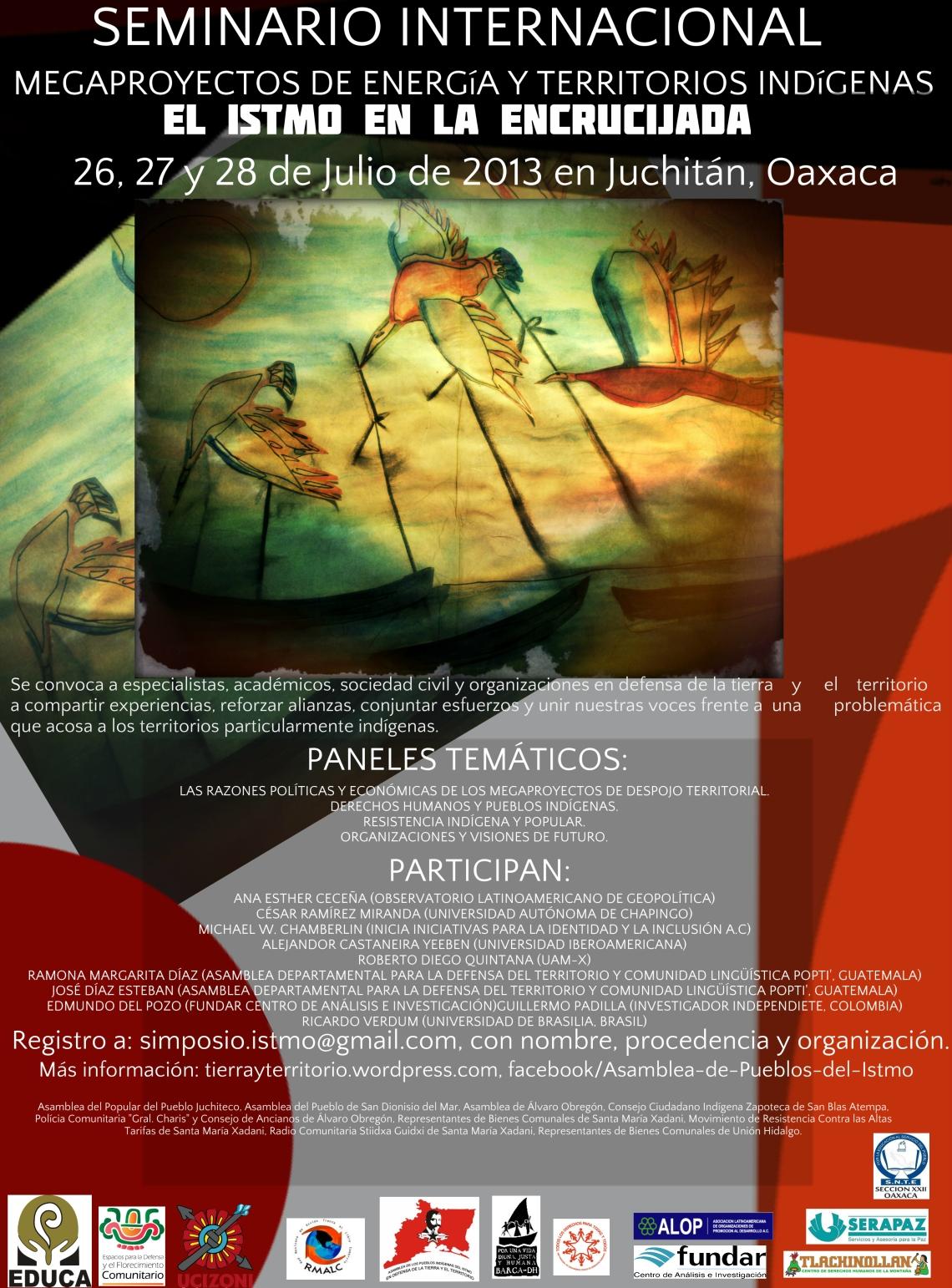 Seminario Internacional EL ISTMO EN LA ENCRUCIJADA