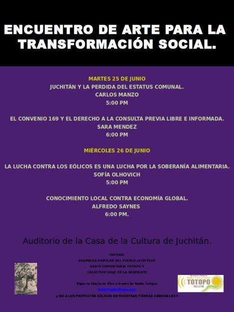 Encuentro de Arte Juchitán