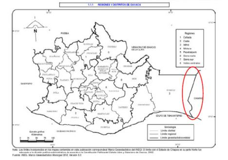 mapa chimas