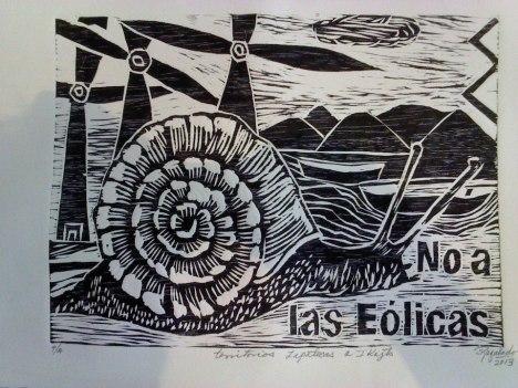 No a las eólicas