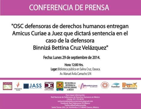 conferencia bettina
